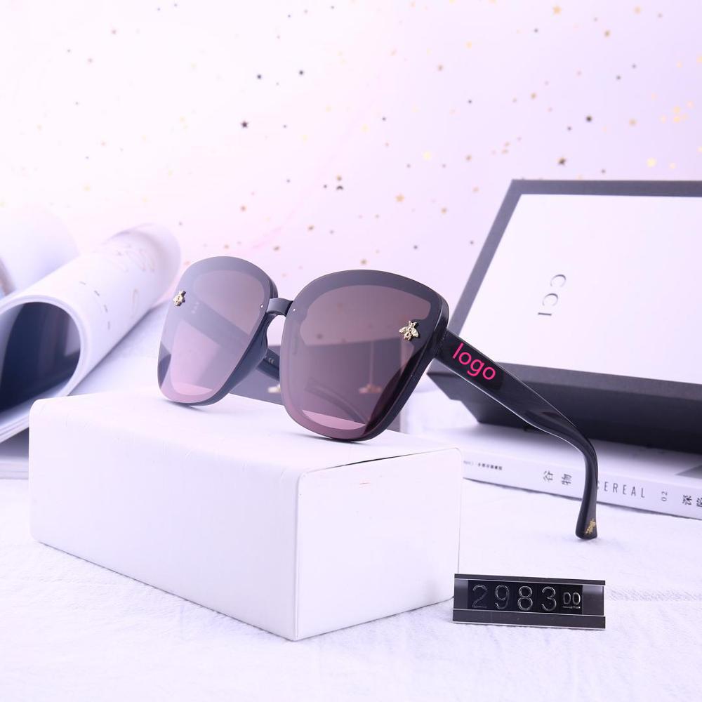 Glasses Retro Vintage Women Luxury Eyewear Fashion UV400 Gradient Female