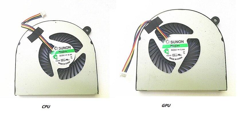 Новый кулер для охлаждения ЦП и графического процессора для Acer Aspire Nitro, стандартный вентилятор для ноутбука