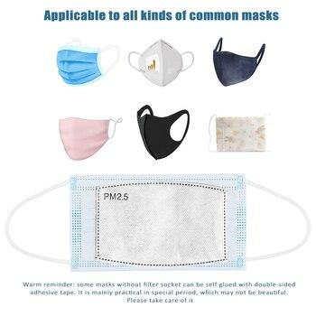 20/50/100 pcs pm2.5 filter mask pa