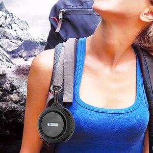 Image 2 - Altavoz C6 con Bluetooth, caja de sonido impermeable para exteriores, soporte de caja de sonido inalámbrico, tarjeta TF
