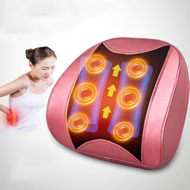 Waist Traction Pillow Waist Massager Spinal Appliance Physiotherapy Cervical Vertebra  Multi-Function Massage Instrument Whole B