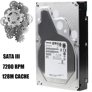 "Image 3 - TOSHIBA 4TB Enterprise Class ฮาร์ดดิสก์ไดรฟ์ HDD HD ภายใน SATA III 6 กิกะไบต์/วินาที 7200RPM 128M 3.5 ""Harddisk ฮาร์ดไดรฟ์ 24/7 24X7 Gamin"