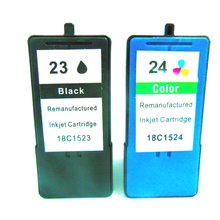 Vilaxh Compatible Ink Cartridge For Lexmark 23 24 Z1420 X4550 X3550 Z1410 X3530 X4530 Printer