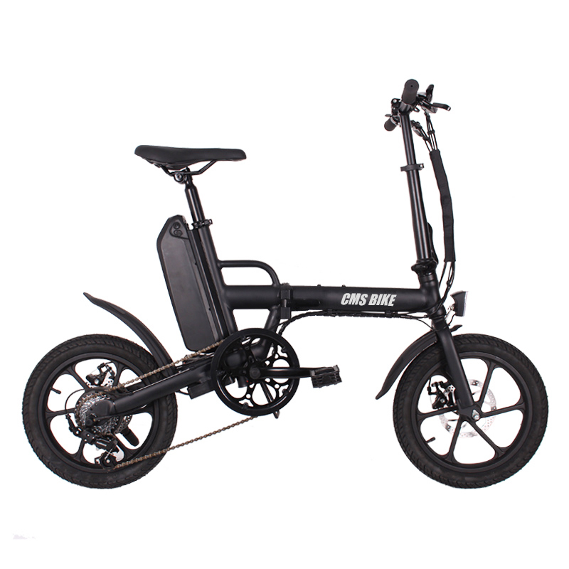 CMS bike f16 plus 16 inch foldable e bike 1