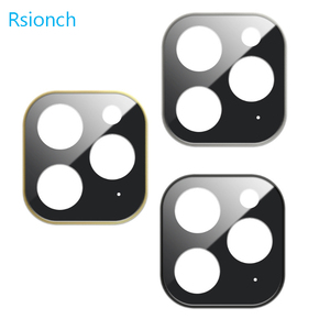 Image 5 - Rsionch Back Camera Lens Screen Protector for NEW iPhone 11 Pro Max 11 Pro 11 Tempered Glass Metal Rear Lens Protection