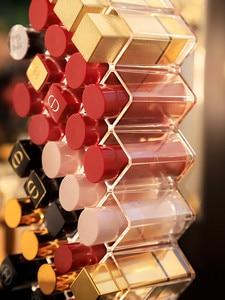 Image 2 - 28 Grids Acrylic Makeup Organizer Storage Box Cosmetic Lipstick Jewelry Box Case Holder Display Stand Make Up Organizer