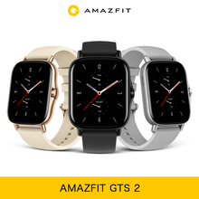 Amazfit GTS 2 Smartwatch GPS In-Build Resistant AMOLED Display 11 Sport Modes All Day Heart Rate Tracking For Android