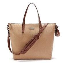 New Hot Women's Handbag Tote Bag PU Leather Messenger Bag Lychee Pattern Simple Solid Color Ladies Shoulder Bag #197316 цены