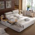 1,5 м 1,8 м индивидуальная кожаная рамка для кровати для спальни # CE-8008