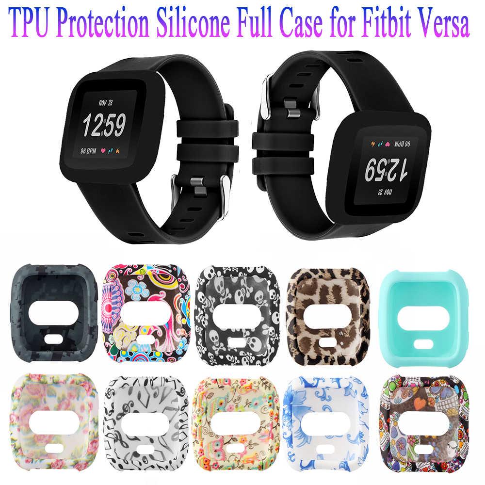 Baru 1 PC Lembut TPU Watch Case Penutup Pelindung Layar Shell Smartwatch Shockproof Aksesoris untuk Fit Bit Sebaliknya Lite band