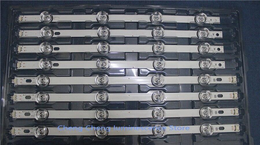 24PCS/set  LED Strip For LG 42LB5800 42LB5700 42LF5610 42LB550V Innotek DRT 3.0 42 A/B 6916L-1709B 6916L-1710B 1709A 1710A 12PCS