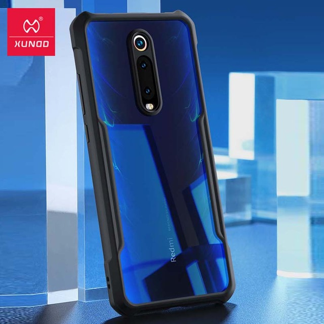 Hot Xundd Luxury Clear Case for Xiaomi Mi 9t / Mi 9t Pro Ring Case Shockproof Airbags Back Cover for Redmi K20 Pro Black  чехол