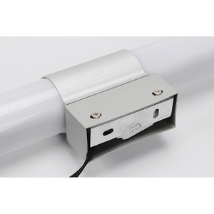 Image 4 - Ledウォールライトモダンなバスルームミラーライト 16 ワットアクリルledロングチューブ化粧ライトインテリアライト (ウォームライト) アルミ + acryli