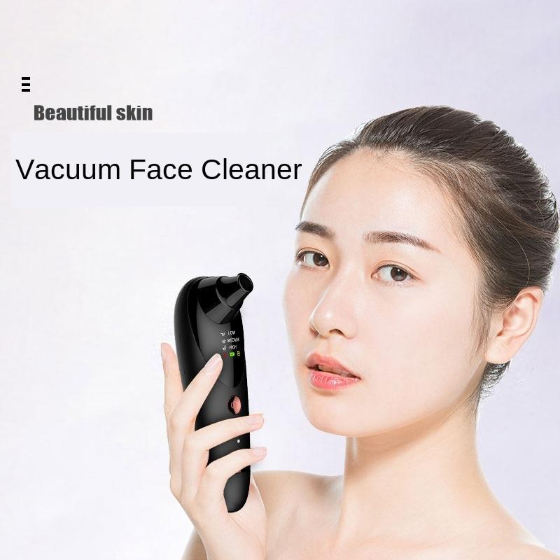V cuo removedor de cravo vibra o aquecida rosto massageador facial m quina limpa ponto preto