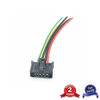 Wire Harness Loom Cable Connector For Peugeot 206 307 Citroen C3 Xsara Blower Motor Heater Resistor 6450JP image