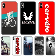 Cervelo Bike Team Bicycle Cycling Logo For Xiaomi Mi A1 A2 A3 5X 6X 8 9 9t Lite SE Pro Mi Max Mix 1 2 3 2S Soft TPU Phone Cover(China)