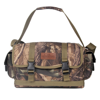 Outdoor Multi-Functional Luxury Series Camouflage Tactics Bag Hunting Shoulder Messenger Travel Army / Moore