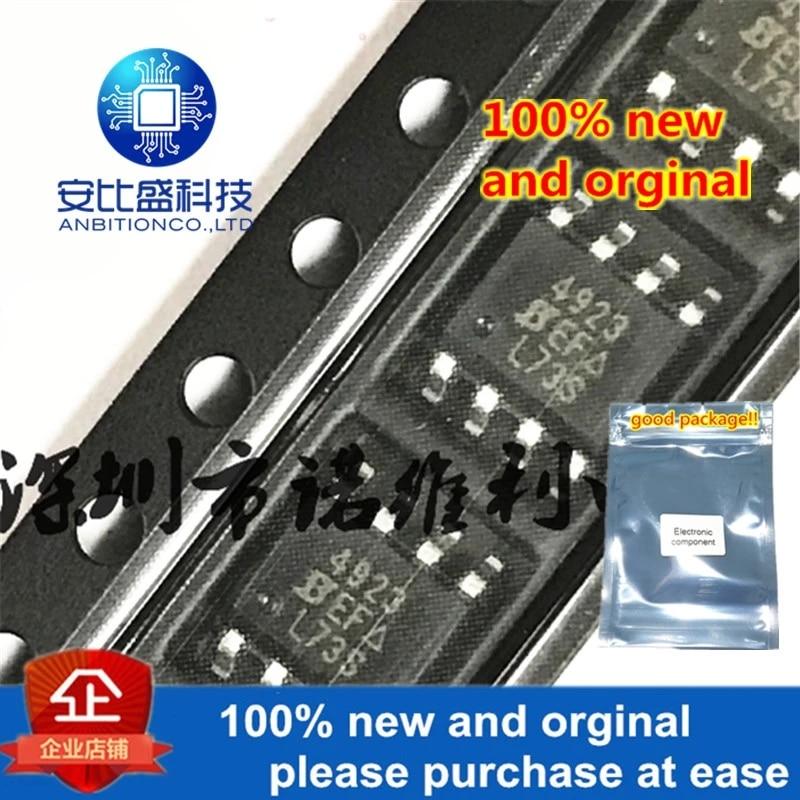 10pcs 100% New And Orginal SI4923DY-T1-E3 SOP-8 SI4923 P 4923 30V 6.2A MOS In Stock
