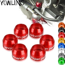 Motorcycle  CNC Billet Bleed Valve Cover Kit For Ducati SUPERBIKE 955 959 Panigale V2 996 998 999 DESMOSEDICI RR Panigale V4 R S