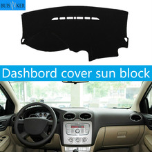 Car Dashboard Cover Dash Mat For Ford Focus 2 MK2 2005 2006 2007 2008 2009 2010 2011 Non-slip Carpet Dashmat Sun Cover Pad for vw jetta 5 a5 mk5 2005 2006 2007 2008 2009 2010 2011 1k anti slip mat dashboard cover pad dashmat accessories for volkswagen