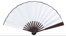10pcs lot 8inch 10inch Blank Sublimation Silk Fan For Sublimation INK Print DIY Gifts Heat Press