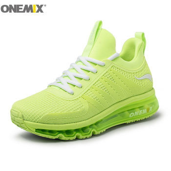 ONEMIX Women's Air Cushion Running Shoes Resilience Breathable Sneakers woman Walking Jogging Outdoor Comfortable Sports Shoes onemix women s running shoes knit mesh vamp lightweight run sneakers woman cushion for outdoor jogging walking red gold white