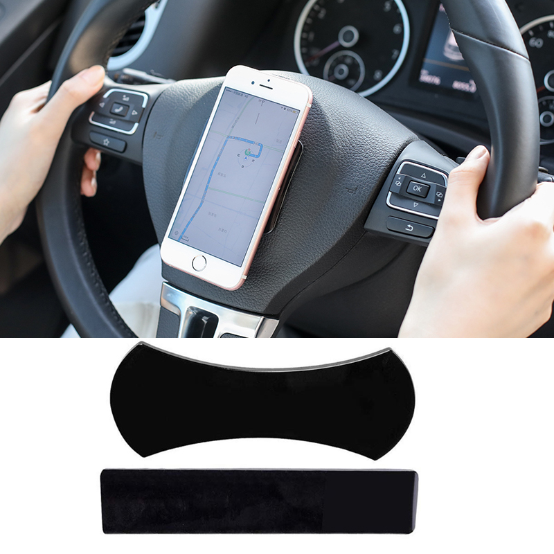 2pcs Universal Nano Rubber Magic Pad  No Trace Sticky Pad Multi-Function Mat Car Holder For Kitchen Car Phone Holder Gel Paste