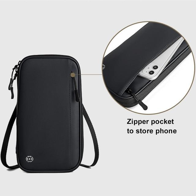 Acoki Travel Wallet, Family Passport Holder, Travel Documents Organizer, Durable Passport Case with RFID Blocker for Men, Women. 3