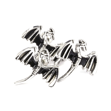 1 PC Newly Designed Silver Pterosaur Ear Stud Copper Nail Cartilage Piercing Jewelry