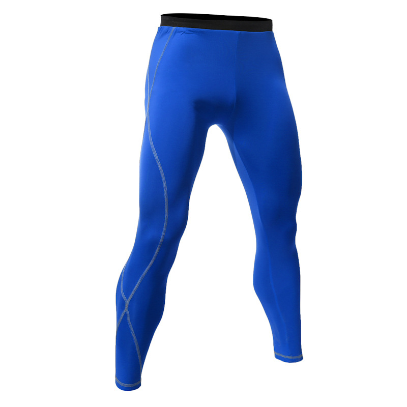 2017 New MEN'S Wear Tight Trousers Wicking Quick-Drying Tight Gymnastic Pants Quick Drying Pants