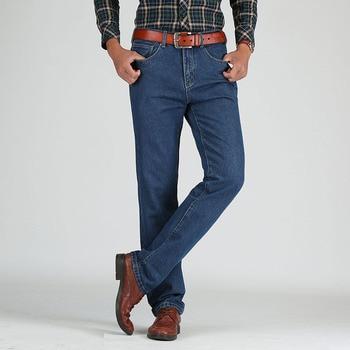 2019 Men Cotton Straight Classic Jeans Spring Autumn Male Denim Pants Overalls Designer Men Jeans High Quality Size 28-44 1