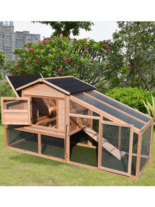 Outdoor solid wooden Chicken Cage Household Large Cabin Pigeon Cat Dog Bird Rabbit Cage Pets house