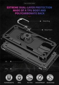 Модный чехол с красивой оправой и прочной Броня против падения Чехол для телефона для Xiaomi Pocophone X3 Pro Poco X3 NFC противоударный Магнитная Защитная крышка|Бамперы|   | АлиЭкспресс