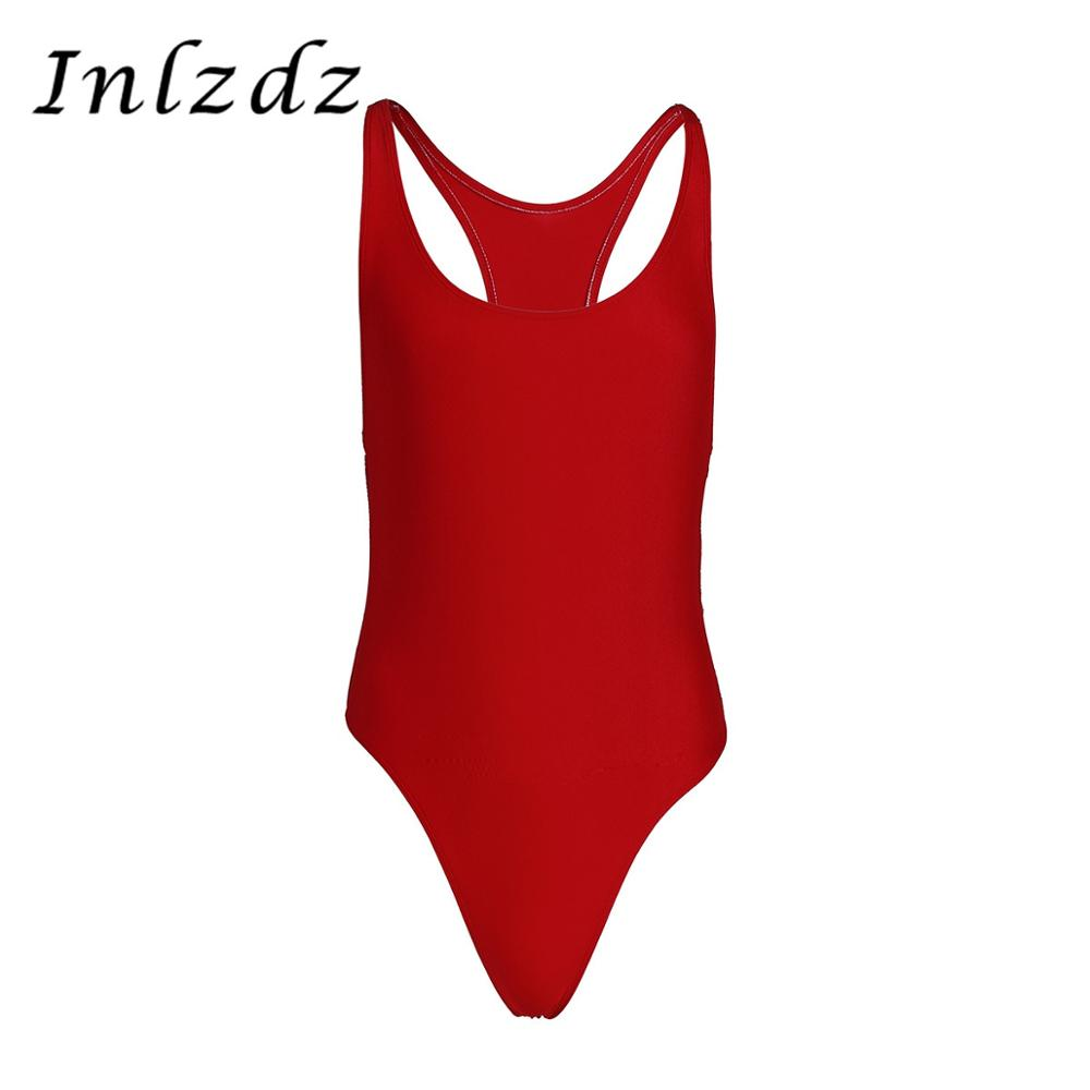 Mens Mankini Bodysuit Lingerie Wrestling Singlet Underwear Gymnastics Leotard Bodysuit