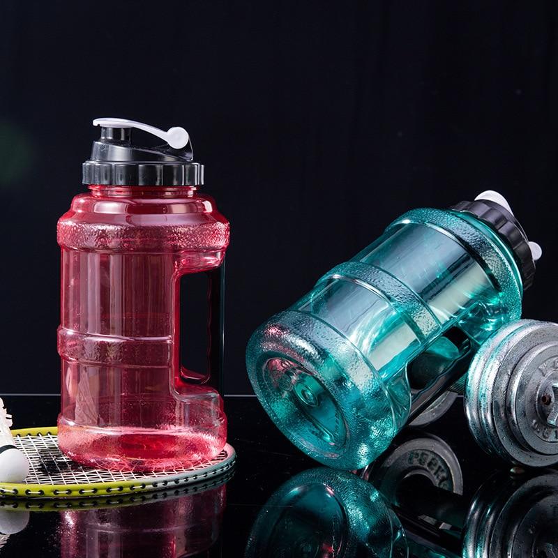 Кувшин для воды объемом 2,5 л, большая безопасная и экологически чистая бутылка для воды, большая многоразовая бутылка для воды, пластиковая ...