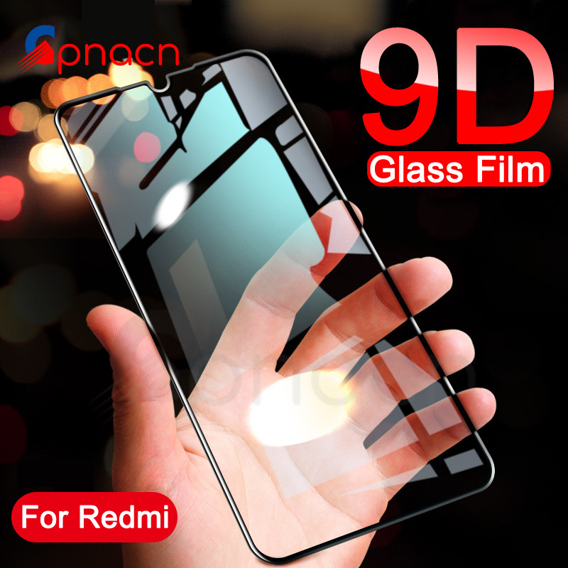9D Tempered Glass For Xiaomi Redmi 7 7A 6 Pro 6A 5A Redmi 5 Plus 5A S2 K20 Note 7 6 Pro Screen Protector Protective Glass Film