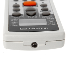 Replacement Air Conditioner Remote Control For Fujitsu AR-DJ5 AR-JE5 AR-JE4 X6HB