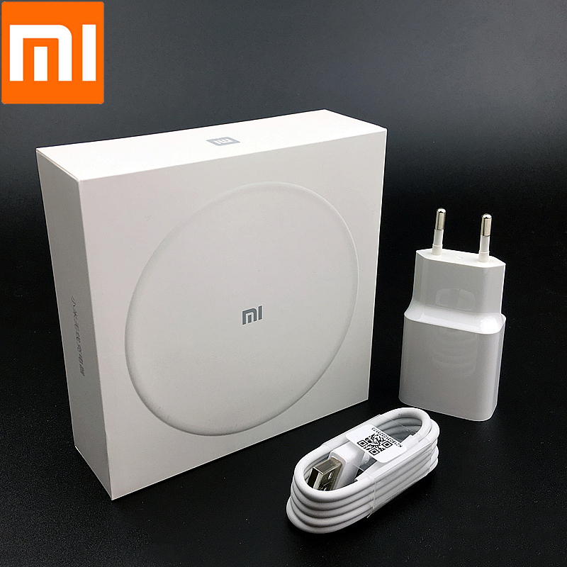 XiaoMi qi Wireless Charger Original QC 3.0 Fast Charge adapter For mi mix 2s 9t se cc9 k20 pro redmi note 7 pro iphone 8 X XS XR