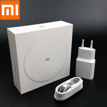 XiaoMi qi Wireless Charger Original QC 3.0 Fast Charge adapter For mi mix 2s 9t se cc9 k20 pro redmi note 7 pro iphone 8 X XS XR - DISCOUNT ITEM  5% OFF All Category