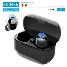 EDIFIER TWS1 אלחוטי אוזניות bluetooth 5.0 aptX מגע בקרת IPX5 ארגונומי עיצוב אלחוטי אוזניות Bluetooth אוזניות