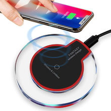 Qi Wireless Charger for Samsung S10 Galaxy S9Plus Xiaomi mi 9 Suntaiho Fashion Charging Dock Cradle Charger for iphone XS MAX XR(China)