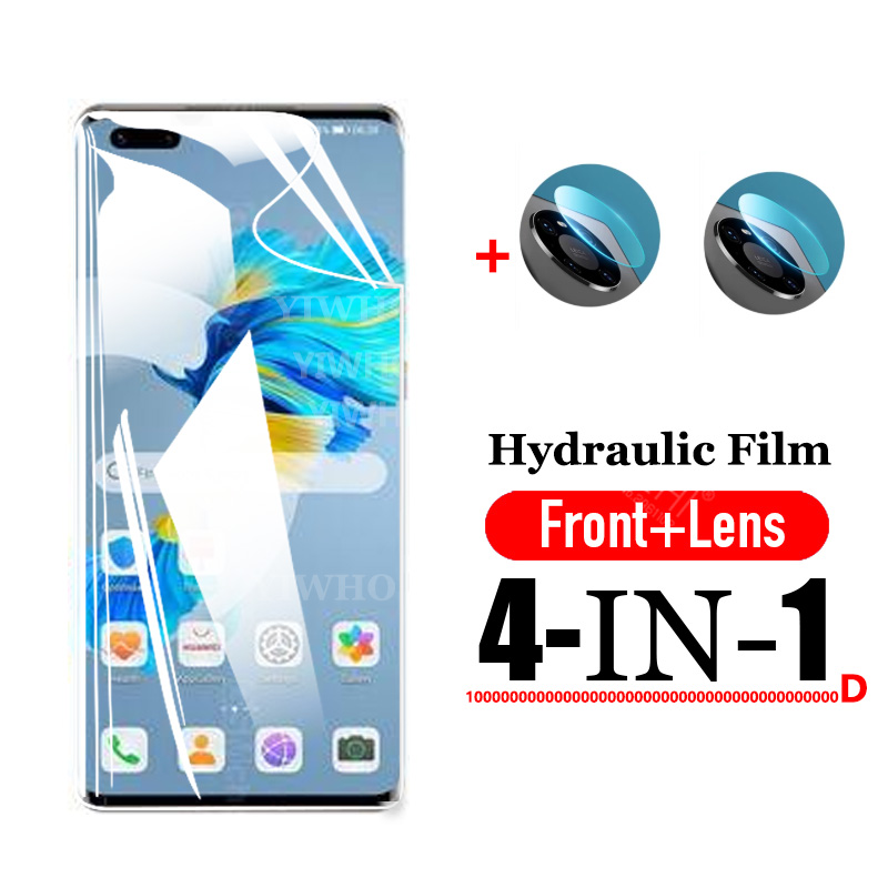 Hydraulic Film for Huawei Mate 40 Pro Plus Screen Protective on Hau Wei Mate 40pro Mate40 Pro+ Camera Lens Tempered Glass