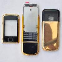 Voor Nokia 8800 Arte 8800A Metal Volledige Behuizing Hoge Kwaliteit Met Logo