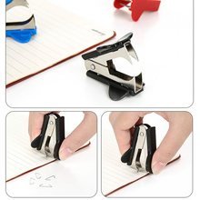 6 Pcs Mini Staple Remover Extra Wide Stainless Steel Jaws Office Supplies OUJ99