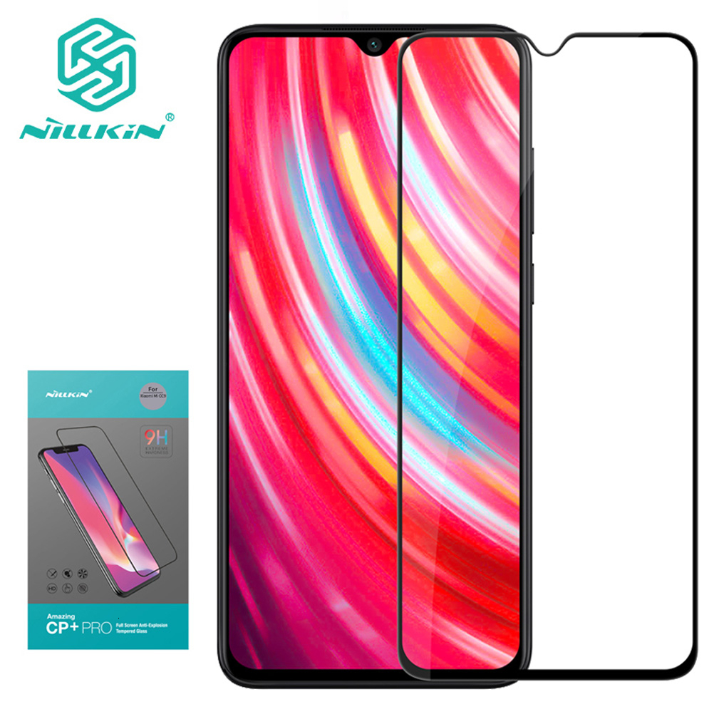 Nillkin Full Cover Glass For XiaoMi Redmi Note 8 pro 2.5D CP+Pro Tempered Glass For Redmi Note 8T Note8 Screen Protection film 1