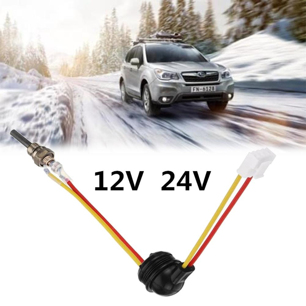 12V24V Parking Heater Ignition Plug Fittings Car Truck Parking 88-98W Universal  Air Diesel Heater Glow Plug