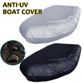 Marine Boat Cover Waterproof Dustproof Anti UV Ice Snow Inflatable Boat Dinghy Fishing Rubber Boat Kayak Sun Cover Heavy Duty