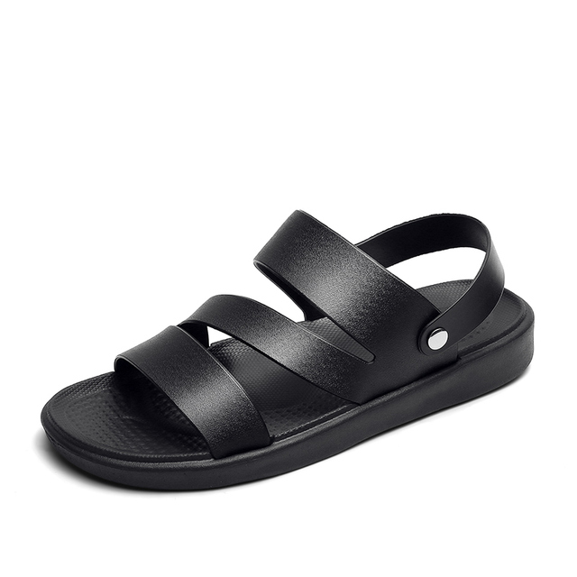 Details about  /Women/'s Comfy Loafers Roman Flat Leather Sandals Slippers Beach Flip Flops Shoes