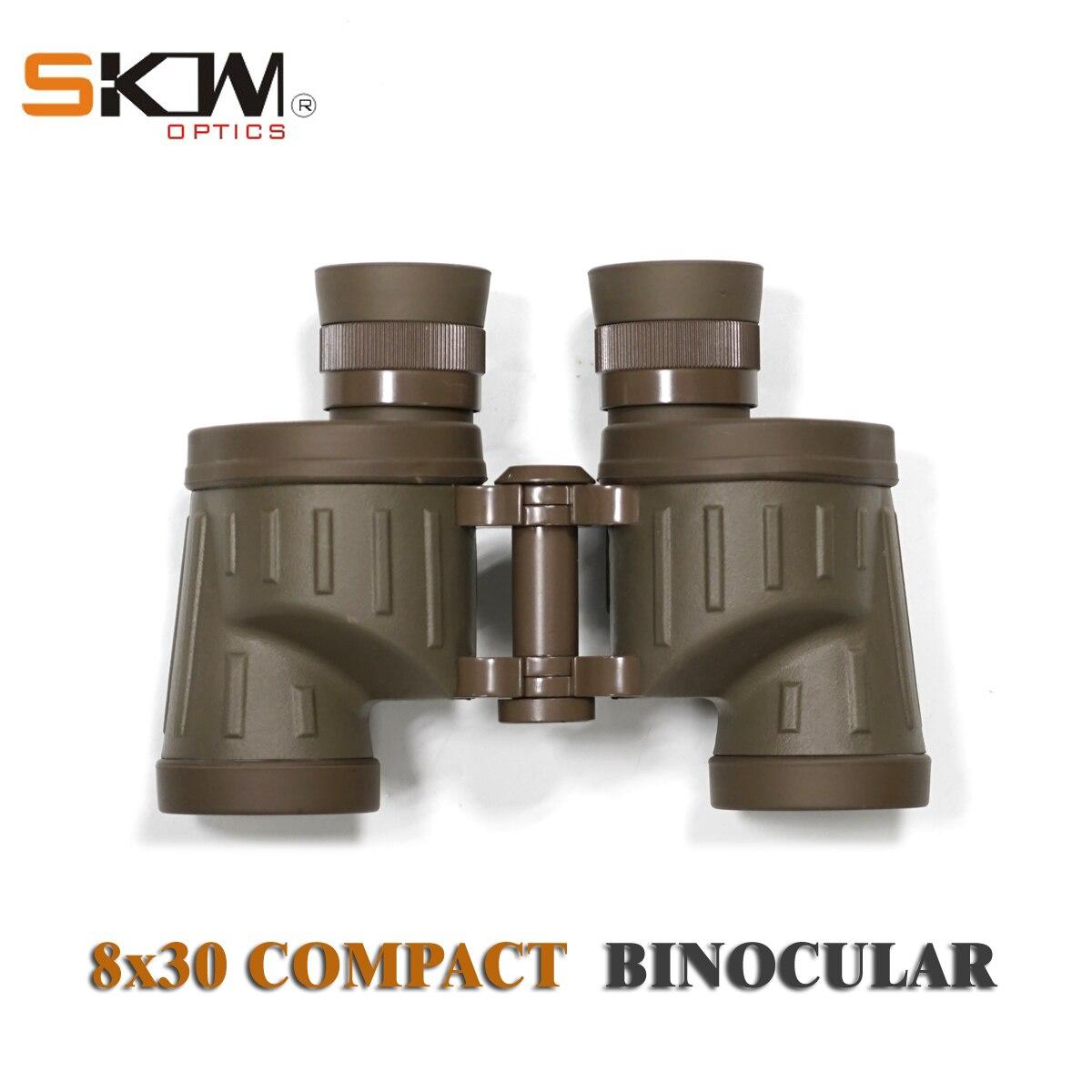 Free shipping Skwoptics 8x30 compact military bak4 Binoculars  waterproof hunting