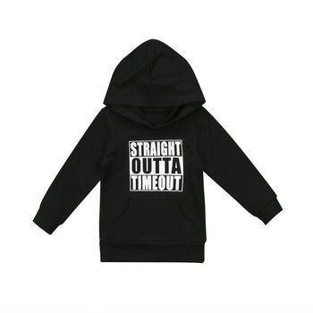 Unisex Autumn Winter Hooded casual Sweatshirt Infant Baby Boys Girls Cotton long sleeve Hoodies with Muff Pockets 1